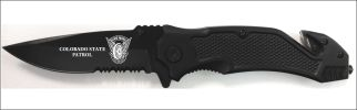 Colorado State Patrol Knife LE 2