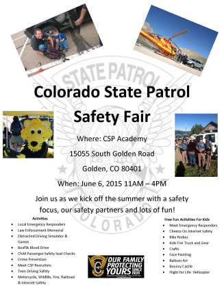 2015 CSP Safety Fair Flyer PDF